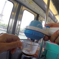 Máquina espresso manual Azul - Monodosis E.S.E. & Café Molido