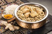 Pollo Korma con arroz