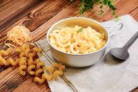 Macarrones con queso - Rango de alta energia